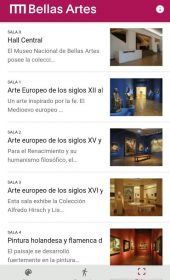 App Museo Nacional de Bellas Artes